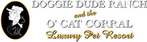 Doggie Dude Ranch and the O'Cat Corral Logo