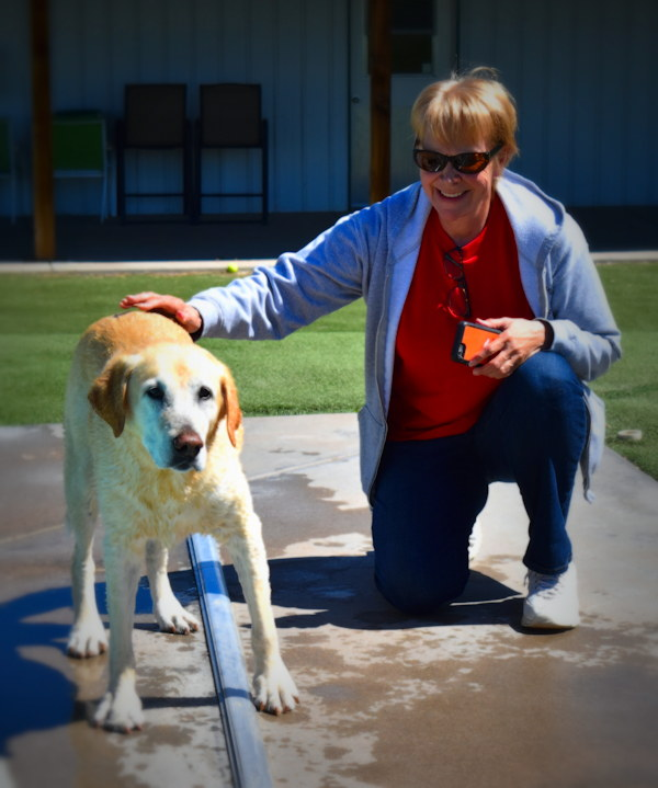 Laurie and Boomer